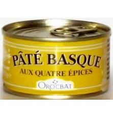 Pâté Basque aux Quatre épices (125g)