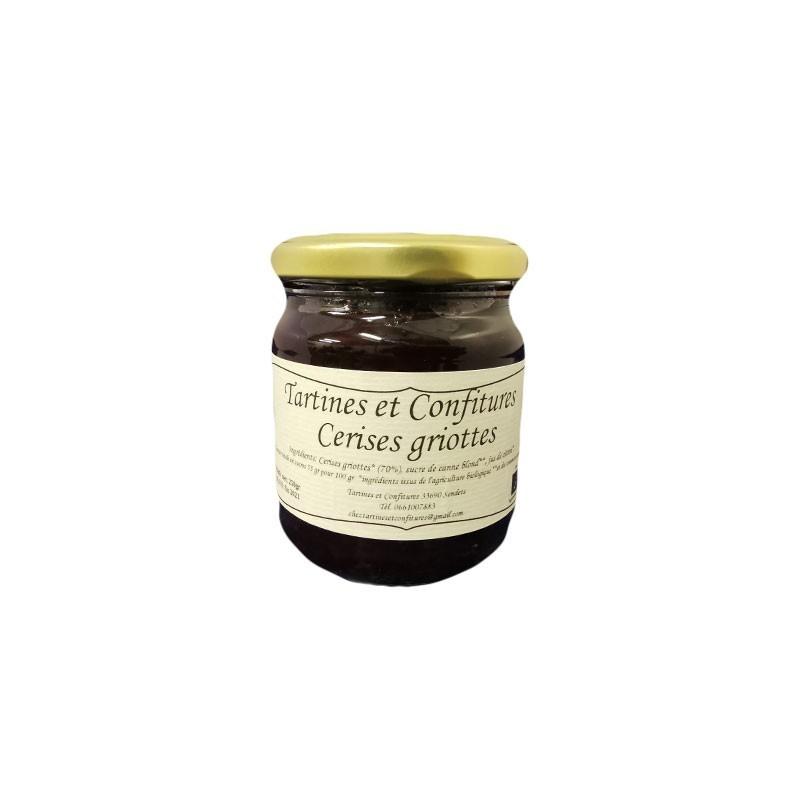Cerises Griottes (pot de 250g) Agriculture Biologique